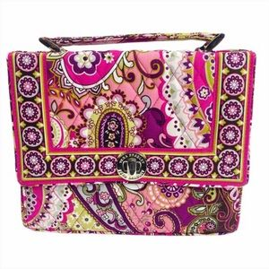 Vera Bradley Very Berry Paisley Julia Bag